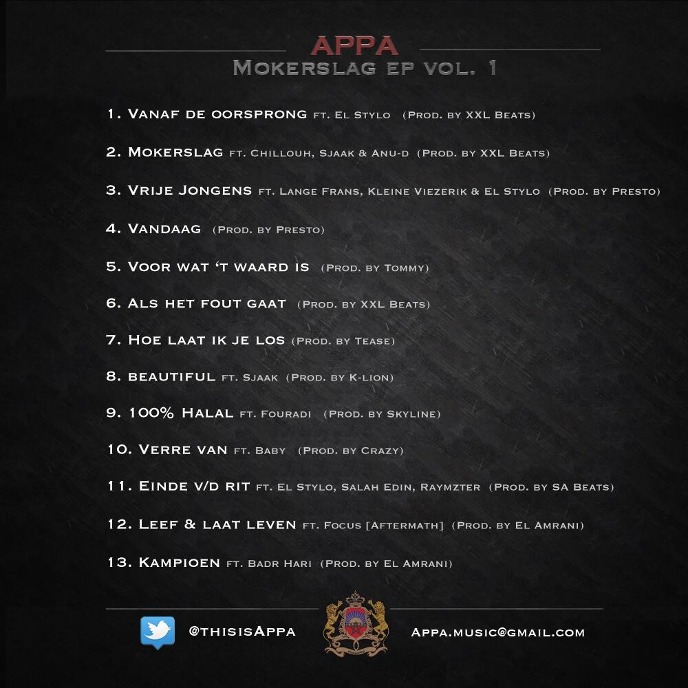 flus-appa-mokerslag-mkrslg-EP-gratis-download-fee-EP-audio-Chillouh-WW-Sjaak