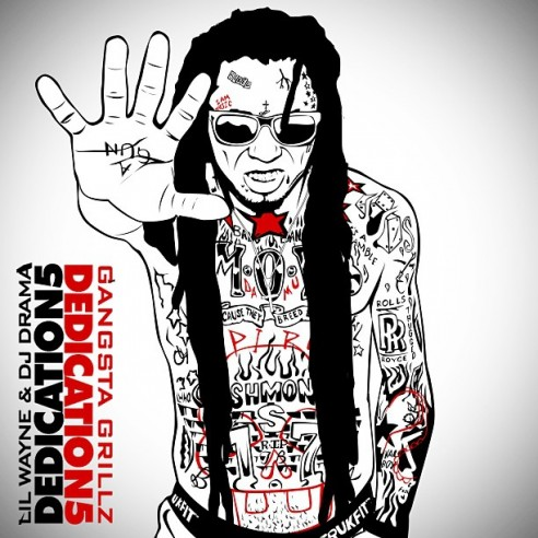 flus - lil wayne - dedication mixtape - cover