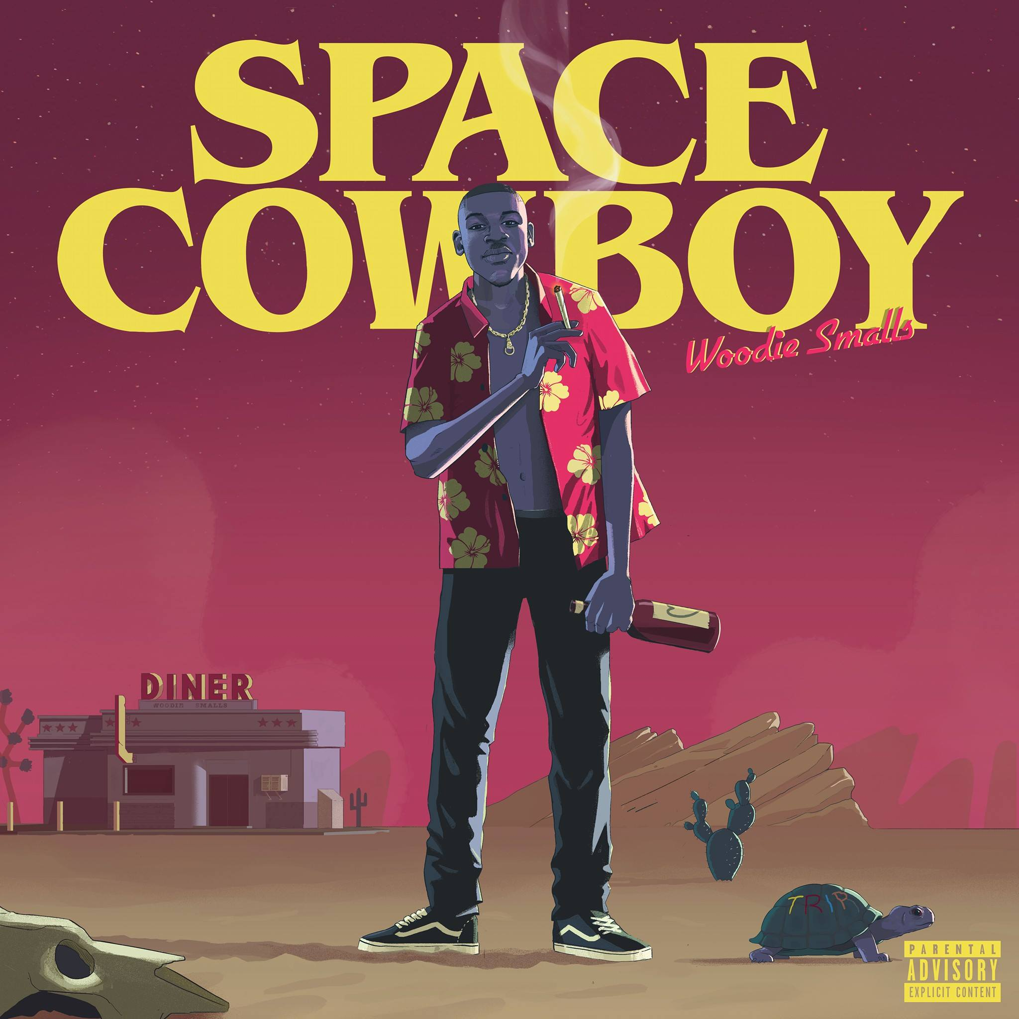 flus-woodie-smalls-front-cover-space-cowboy
